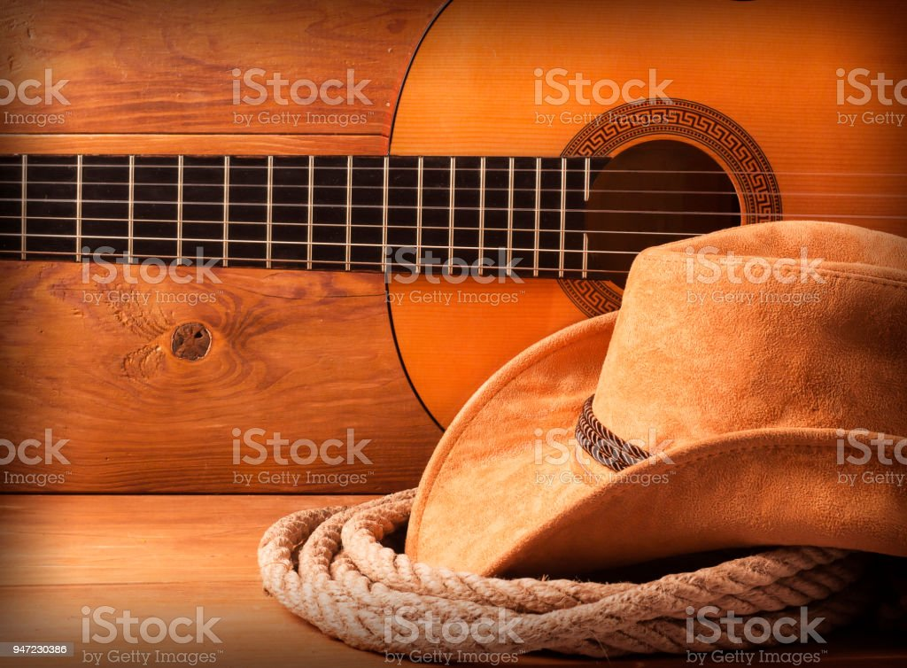 Country american music stock photo