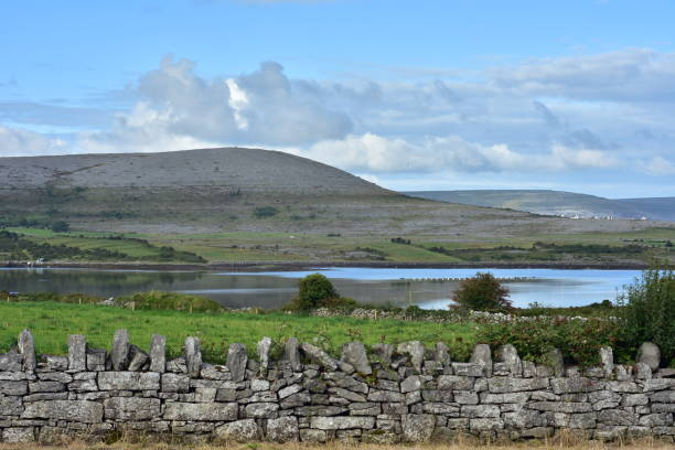 country around burren plateau - the burren stock pictures, royalty-free photos & images