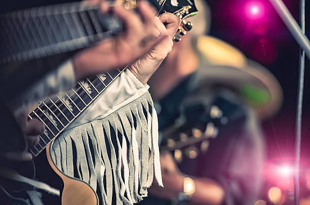 country band country band country and western music stock pictures, royalty-free photos & images