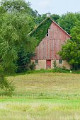 Country Barn Scene