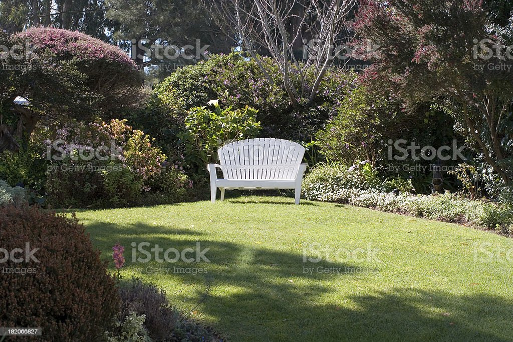 Country Bench stock photo