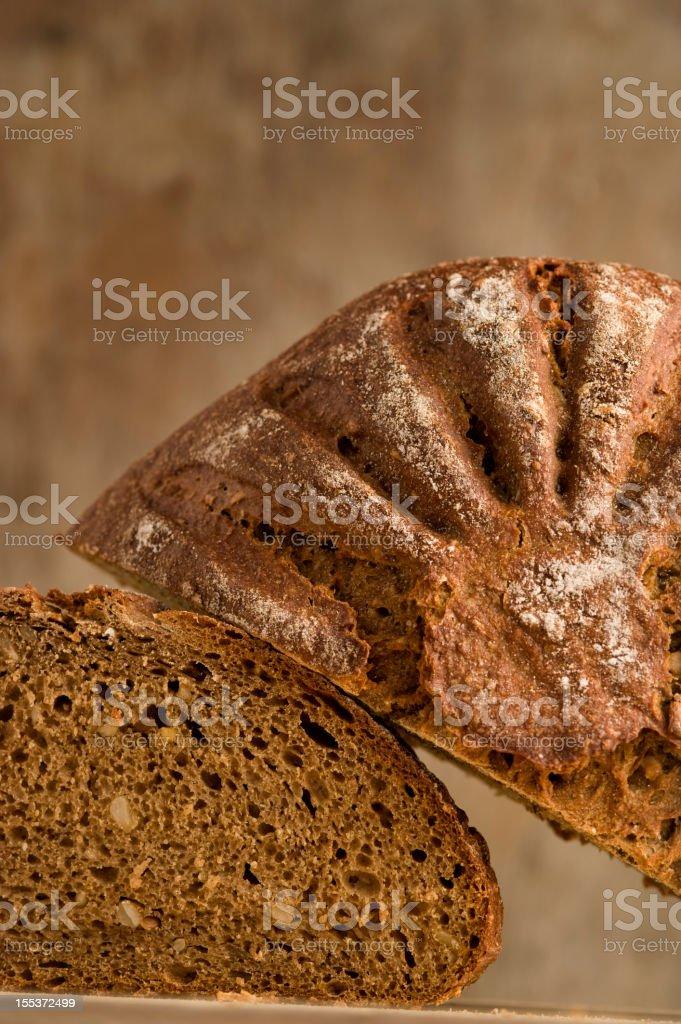 Country Bread, Bauernbrot, Vollkornbrot, Kartoffelbrot royalty-free stock photo