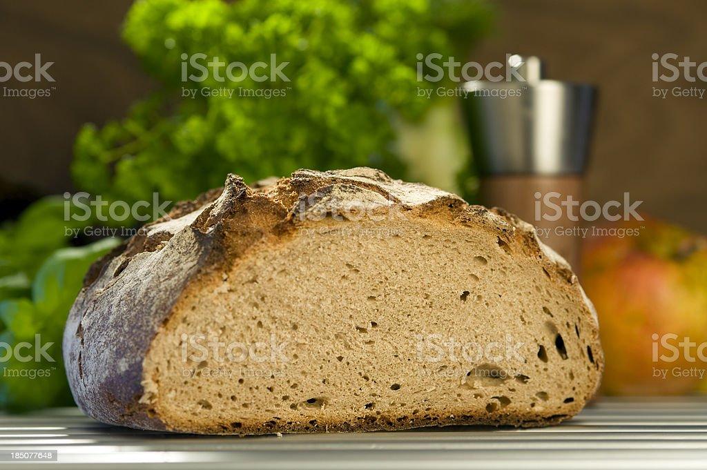 Country Bread, Bauernbrot, Vollkornbrot stock photo