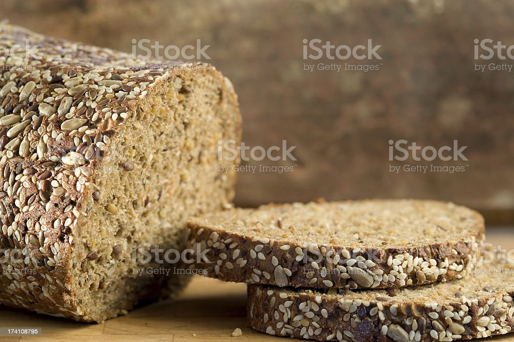 Country Bread, Eiweissbrot, Fitnessbrot royalty-free stock photo