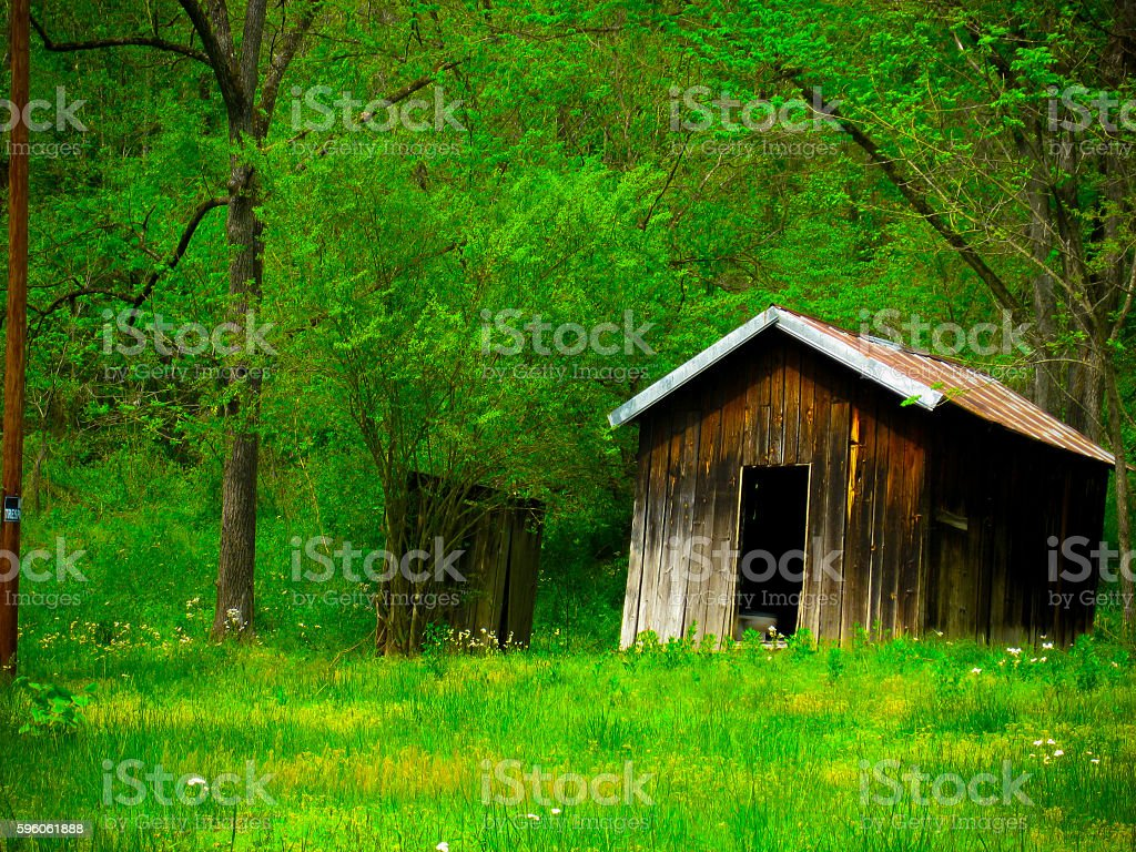 Country Cabin royalty-free stock photo