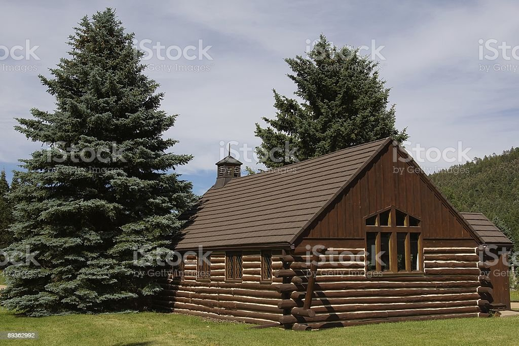 Country Chapel royalty-free stock photo