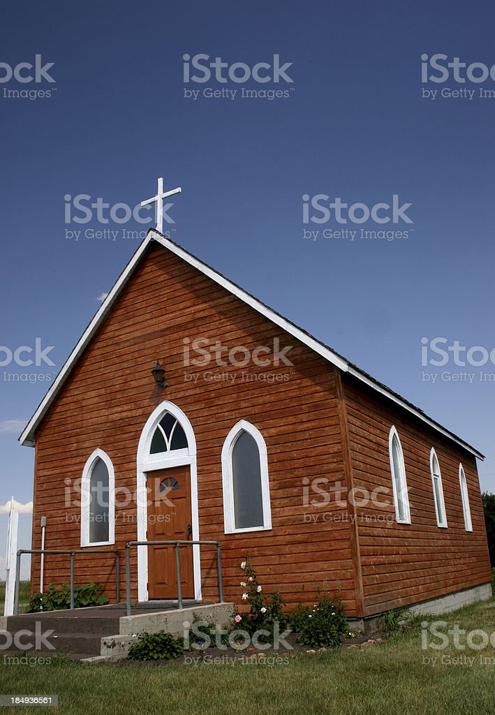 Country Church royalty-free stock photo