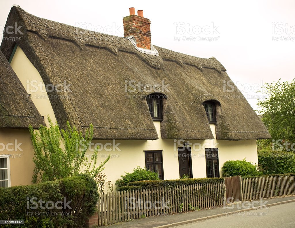 Country Cottage stock photo