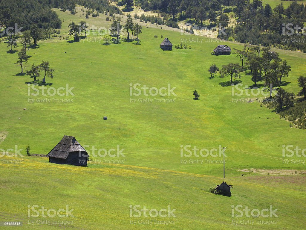 country cottage royalty-free stock photo