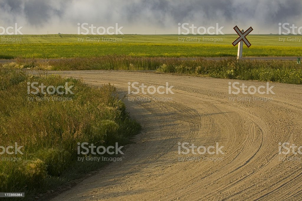 country curves royalty-free stock photo