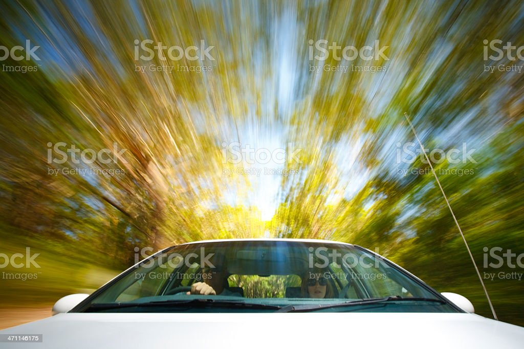 Country Driving stock photo