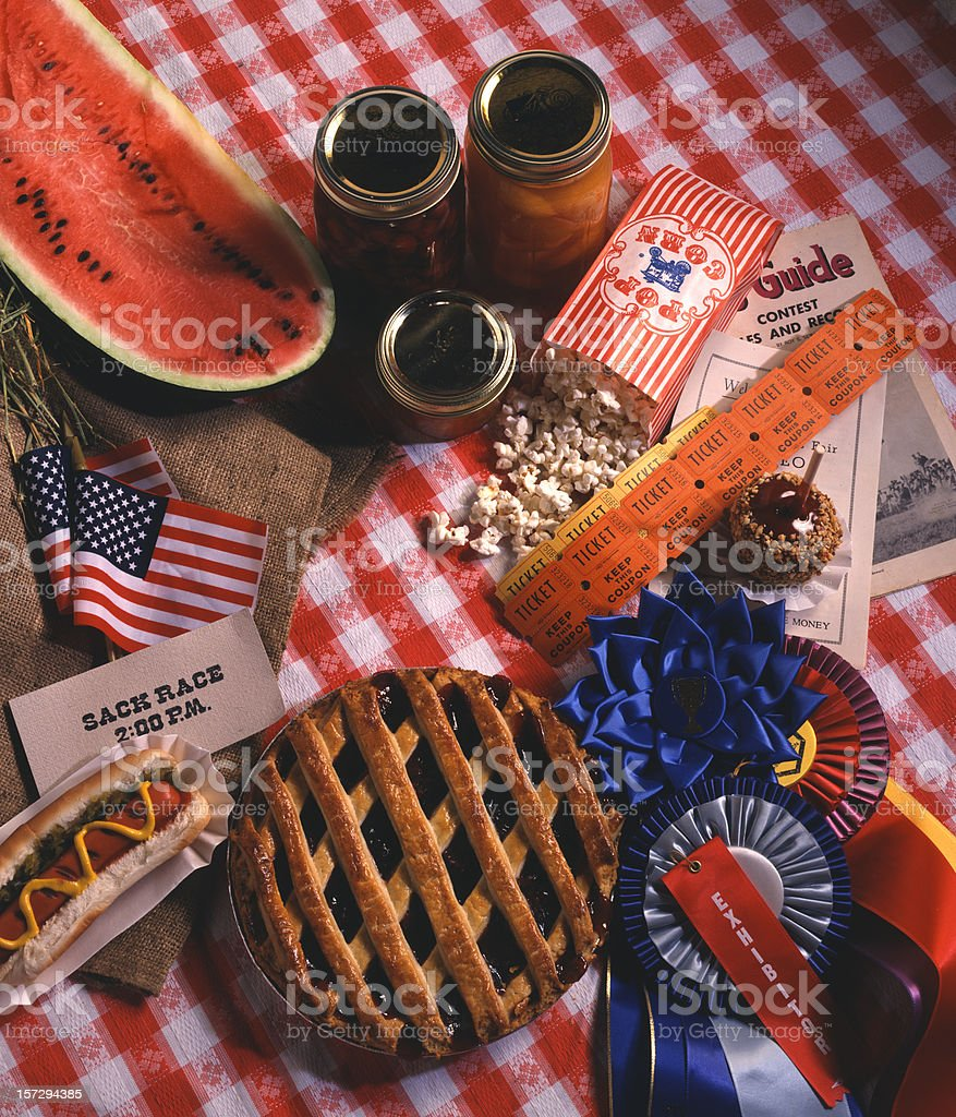Country Fair Montage royalty-free stock photo