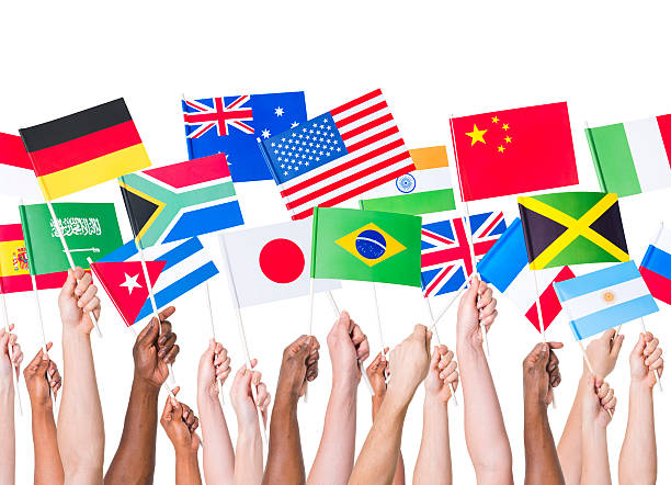 Country flags gathering  national flag stock pictures, royalty-free photos & images