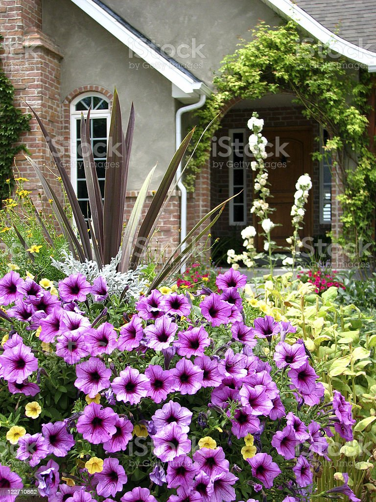 Country garden royalty-free stock photo