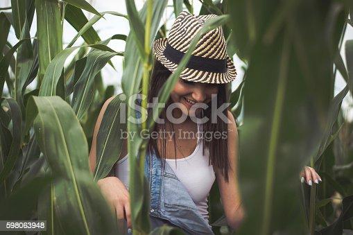 istock Country Girl 598063948