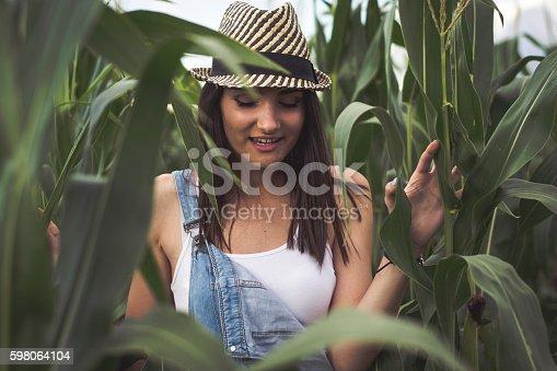 istock Country Girl 598064104