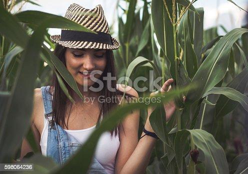 istock Country Girl 598064236