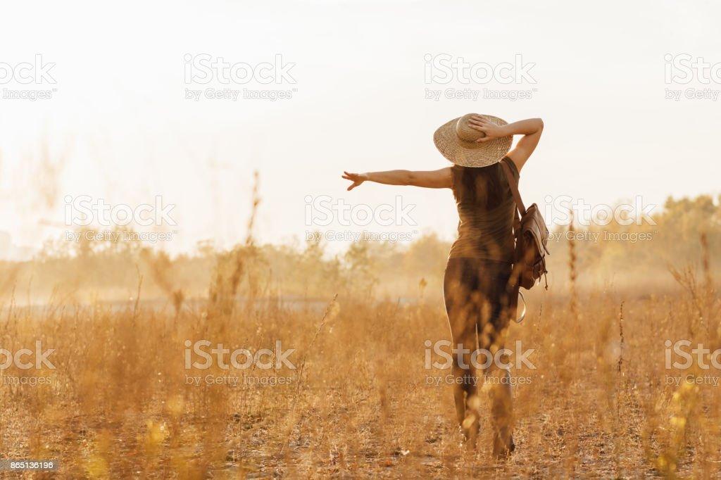 Country girl - foto de stock