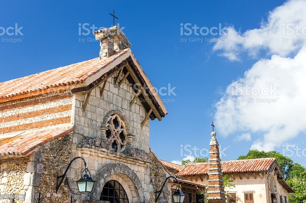 Casa de Campo church stock photo
