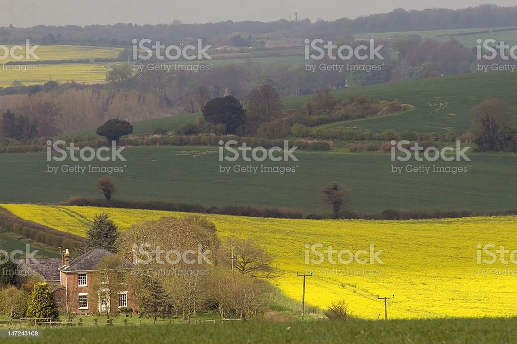 country house england royalty-free stock photo