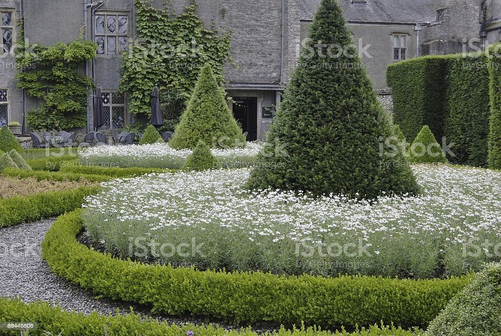 Country house garden royalty-free stock photo