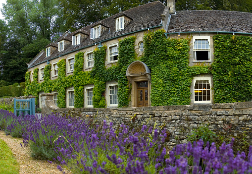 Country House Hotel Stock Photo - Download Image Now