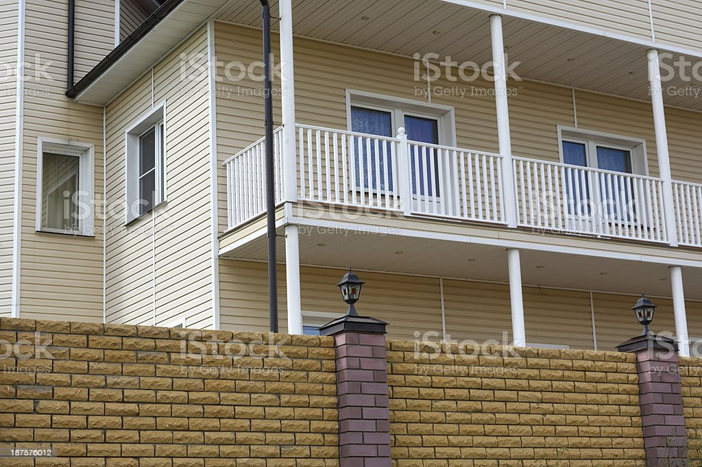 country house stock photo