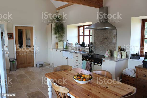 Country kitchen granite worktop gas range cooker tiledfloor pine picture id499492363?b=1&k=6&m=499492363&s=612x612&h=nyjkk61mofhj1uzwxwuaunrzwjra9yhct nctoqcvcw=