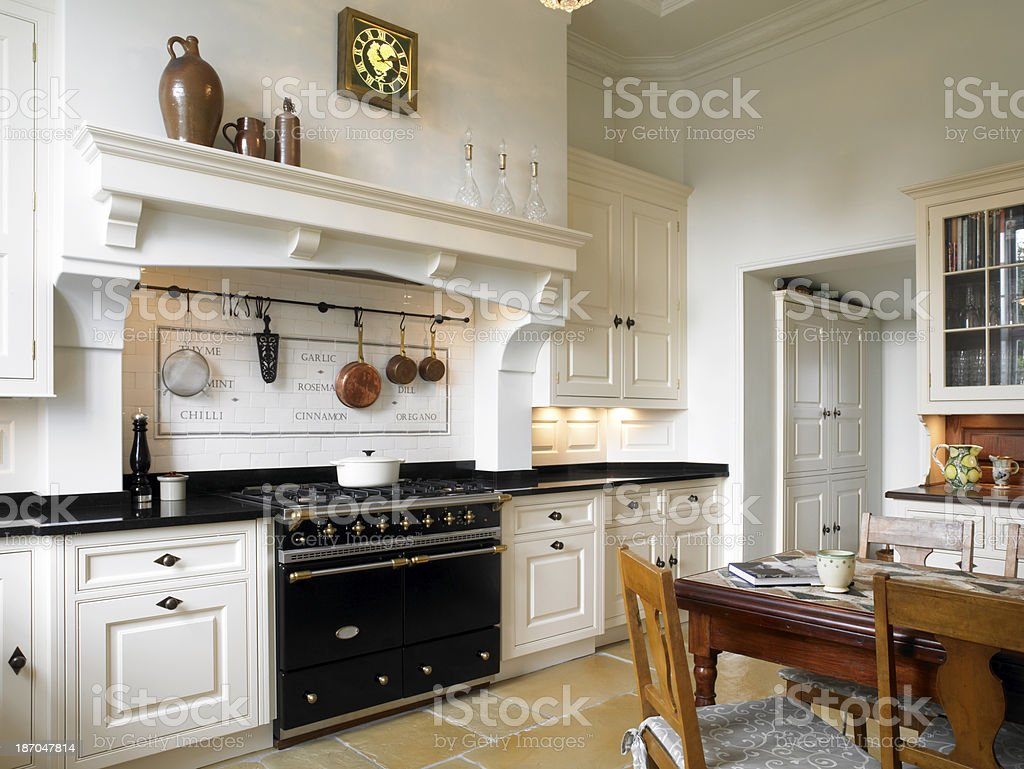 Country Kitchen royalty-free stock photo