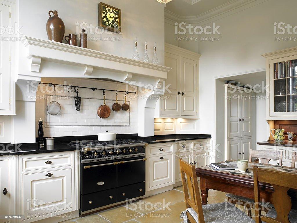 Country Kitchen stock photo