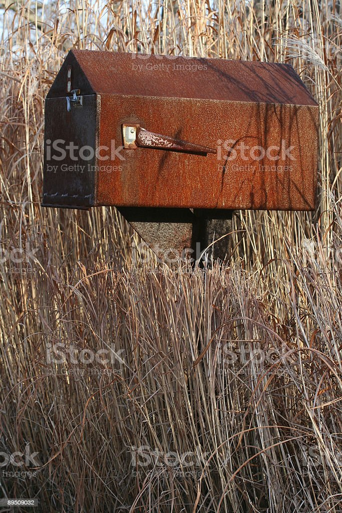 Country Mailbox royalty-free stock photo