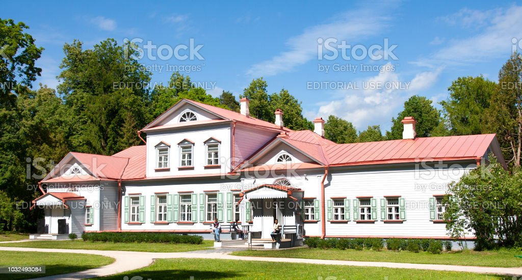 Country manor house of the 18th century. State Historical, Artistic and Literary Museum-Reserve 'Abramtsevo'