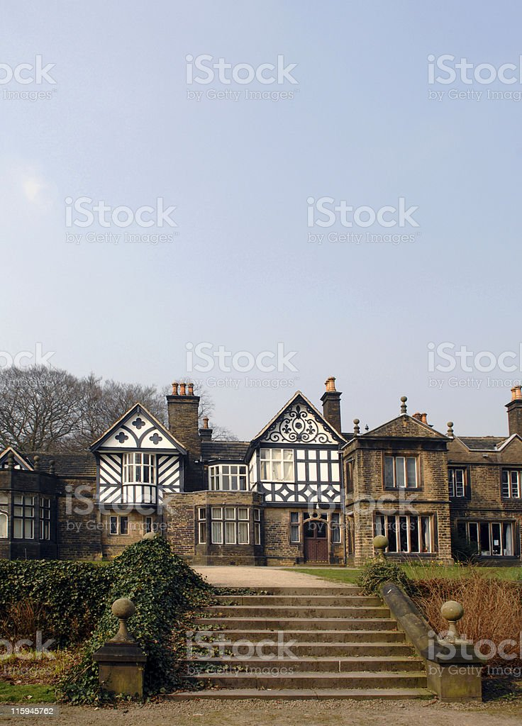 Country Mansion royalty-free stock photo