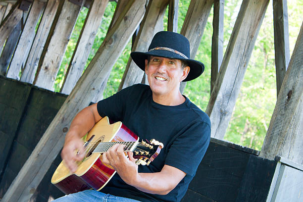 Country Musician stock photo