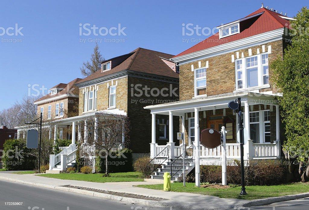 Country Neighborhood royalty-free stock photo