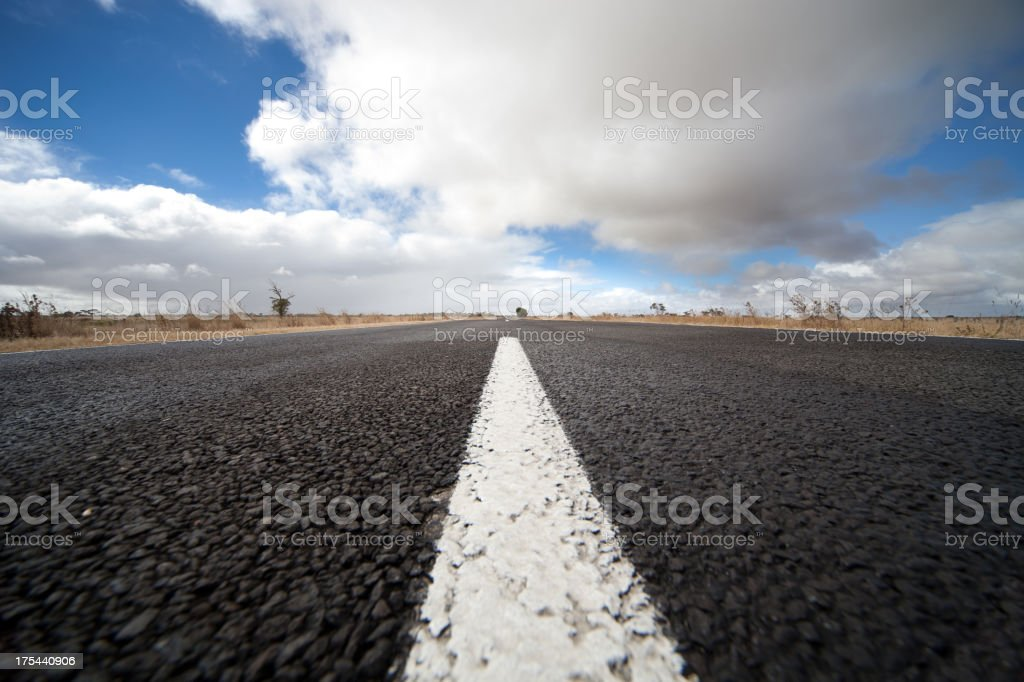 Country Outback Road royalty-free stock photo