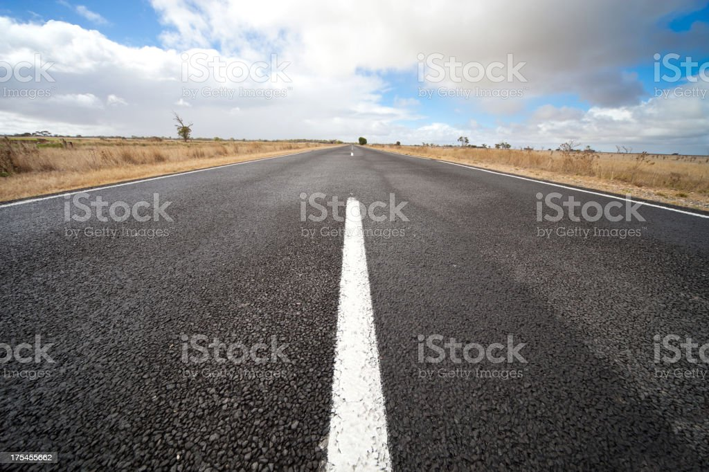 Country Outback Road stock photo