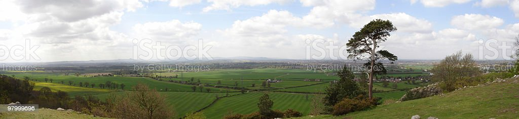 Country Panoramic royalty-free stock photo