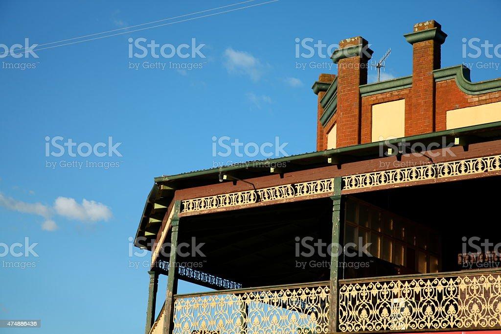 Country pub, Australia stock photo