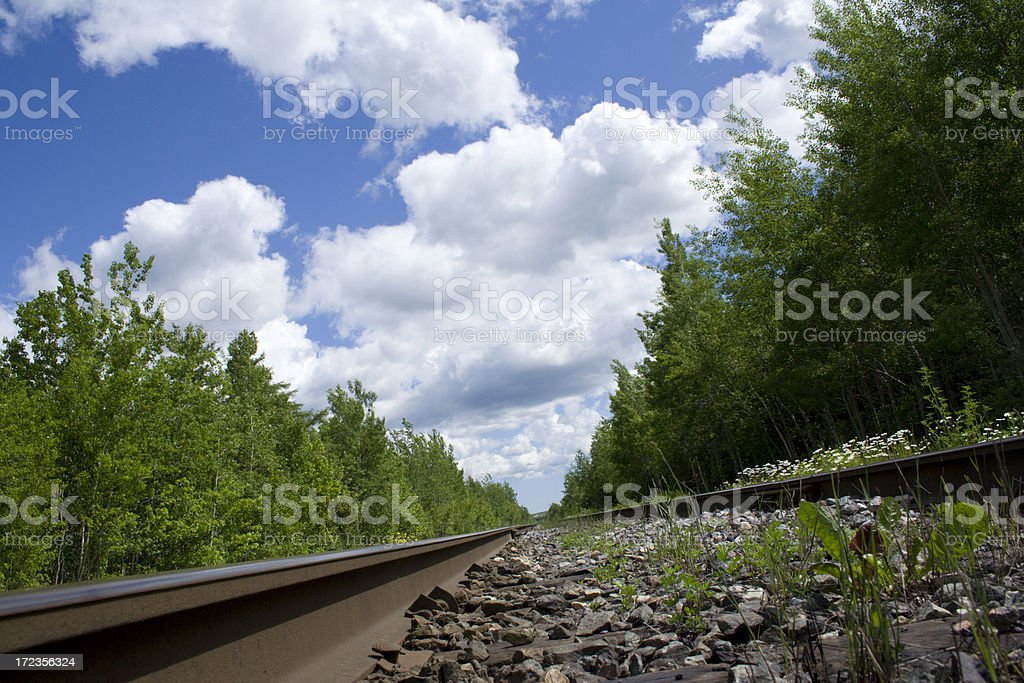 Country Rails royalty-free stock photo