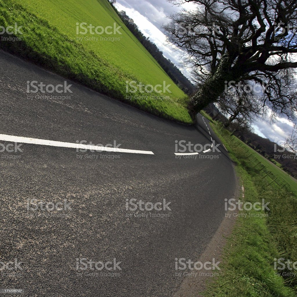 Country Road 6 royalty-free stock photo