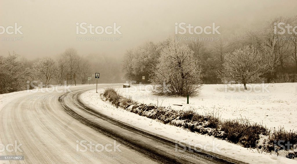 Country road royalty-free stock photo