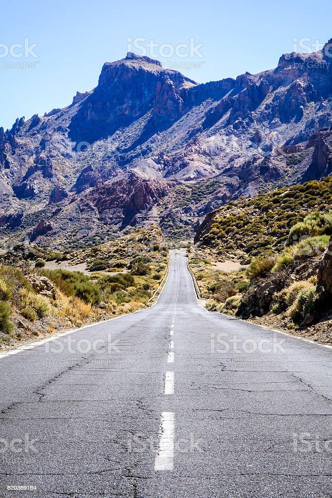 Estrada Secundária foto de stock royalty-free