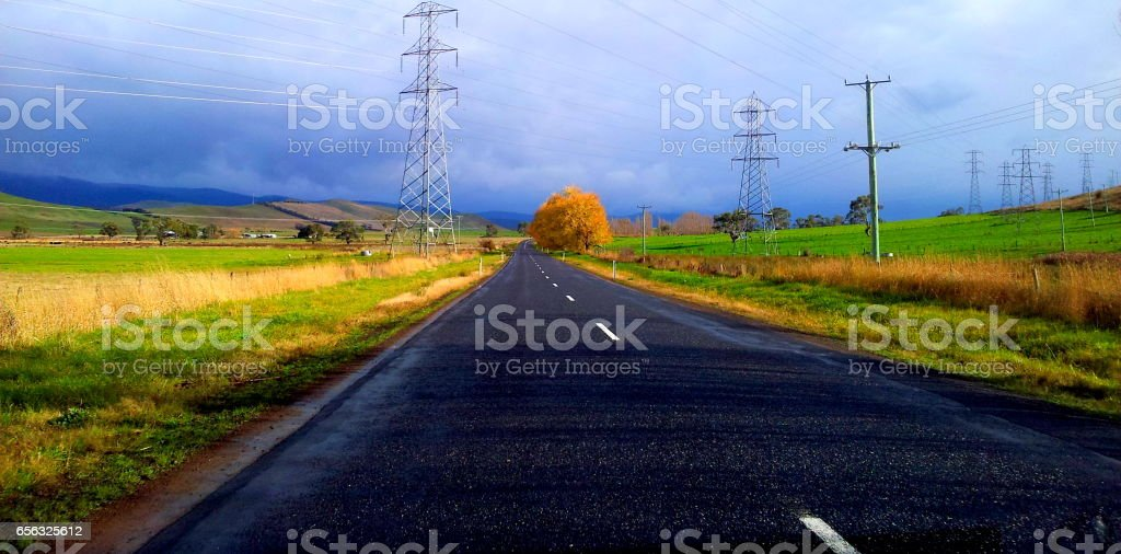 country road стоковое фото