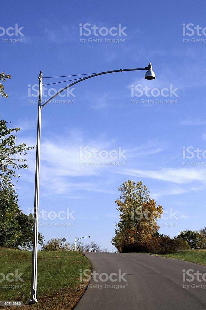 country road Lizenzfreies stock-foto