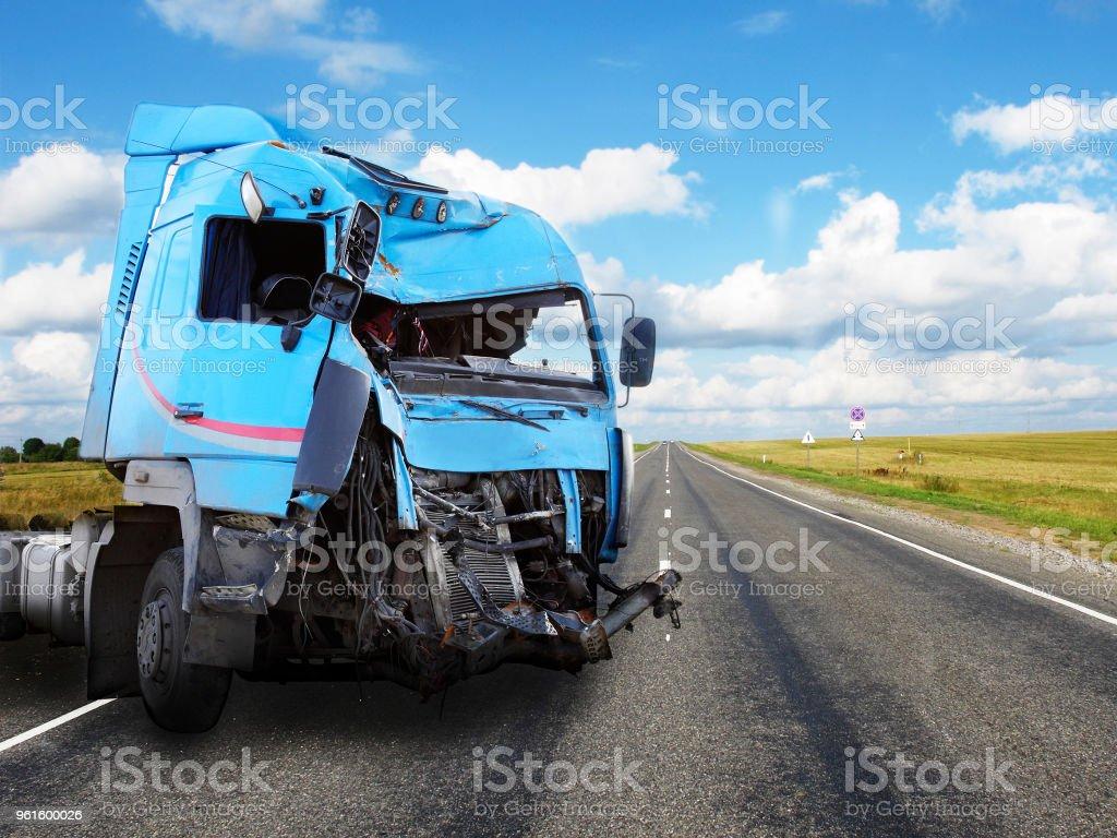 Carretera de campo - foto de stock