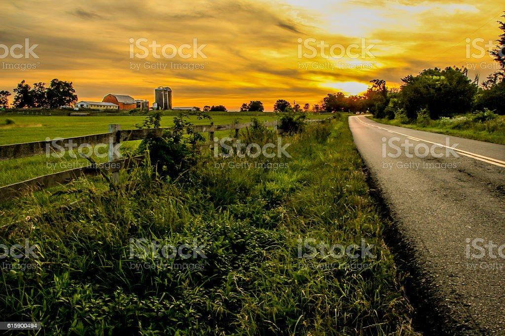 País estradas foto de stock royalty-free