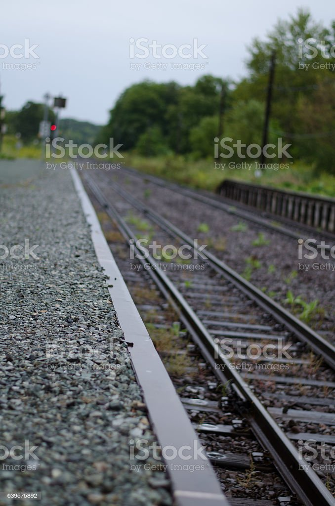 Country routes stock photo
