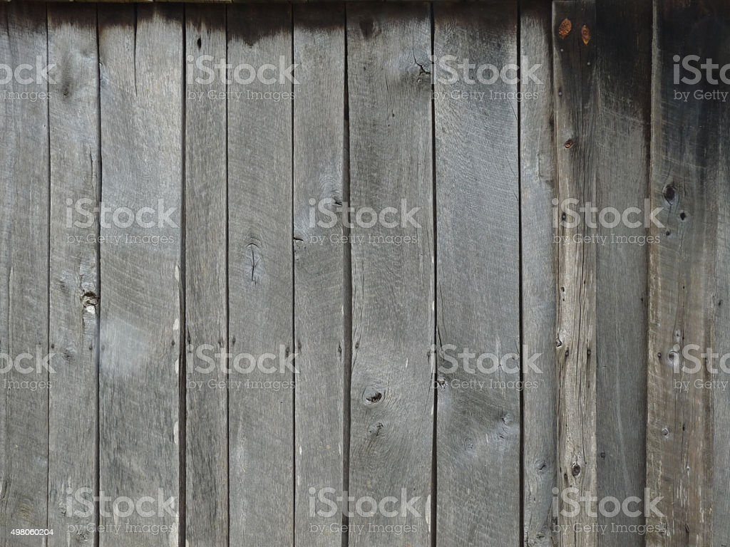 Country Rustic Weathered Gray Barnwood Scenic Background Planks Royalty Free Stock Photo