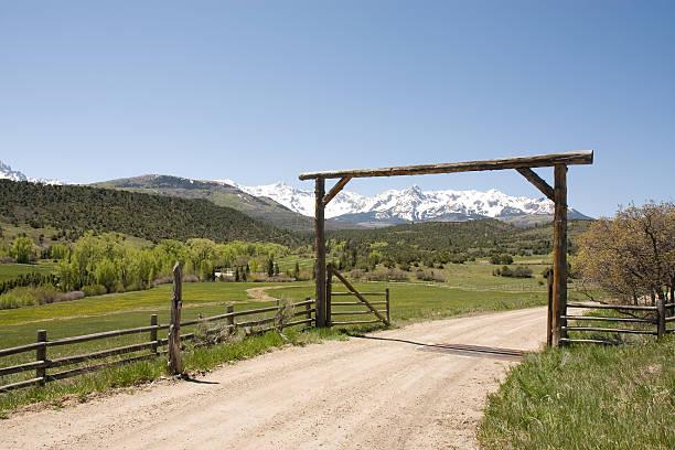 Country Scenics stock photo